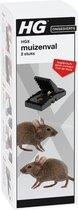 HGX muizenval - 2 stuks - effectieve bestrijdingsmiddel tegen muizen