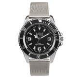 """Meye Watch """"007"""" Nato zwart horloge"""