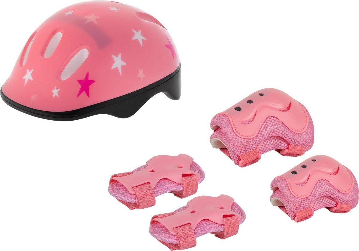 Rebel ZAB0123G Protection Set Girls - Step en skate bescherming - roze - voor kinderen