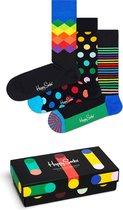 Happy Socks Multi Color 3-pack Giftbox
