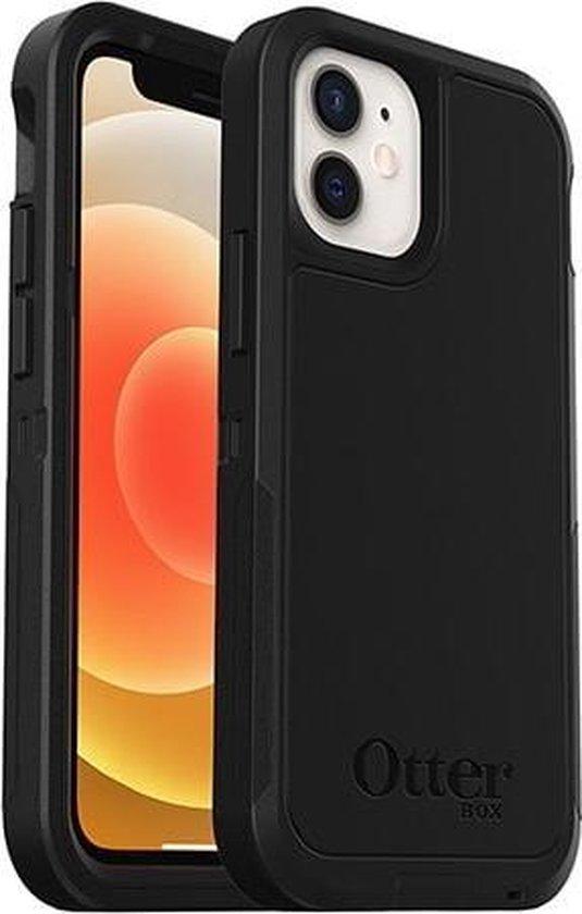 Otterbox Defender XT met MagSafe geschikt voor Apple iPhone 12 mini - Zwart