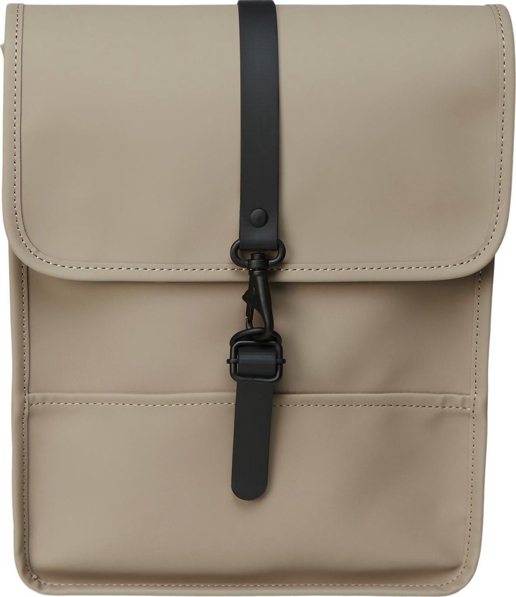 Rains Backpack Micro Taupe Unisex - One Size