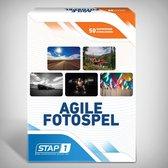 Stap1 Agile Fotospel - Associatiekaarten - 50 Foto's - Coachkaarten - Scrum - Kanban - Fotokaarten voor Training, Workshop en Retrospective