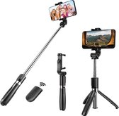 3 in 1 Selfie Stick Tripod  - Zwart - Smartphone Vlog Tripod