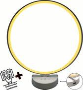 MAXTRONICS™ Daglichtlamp - ⌀ 32 - USB poort - 10000Lux - Touch screen - Geel en Wit licht - Lichttherapielamp – Energielamp - Lichttherapie - Daglichtlampen