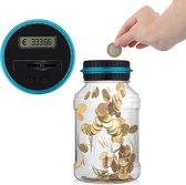 Digitale Spaarpot met Munten Teller – Geschikt voor Euro Muntgeld – Transparant