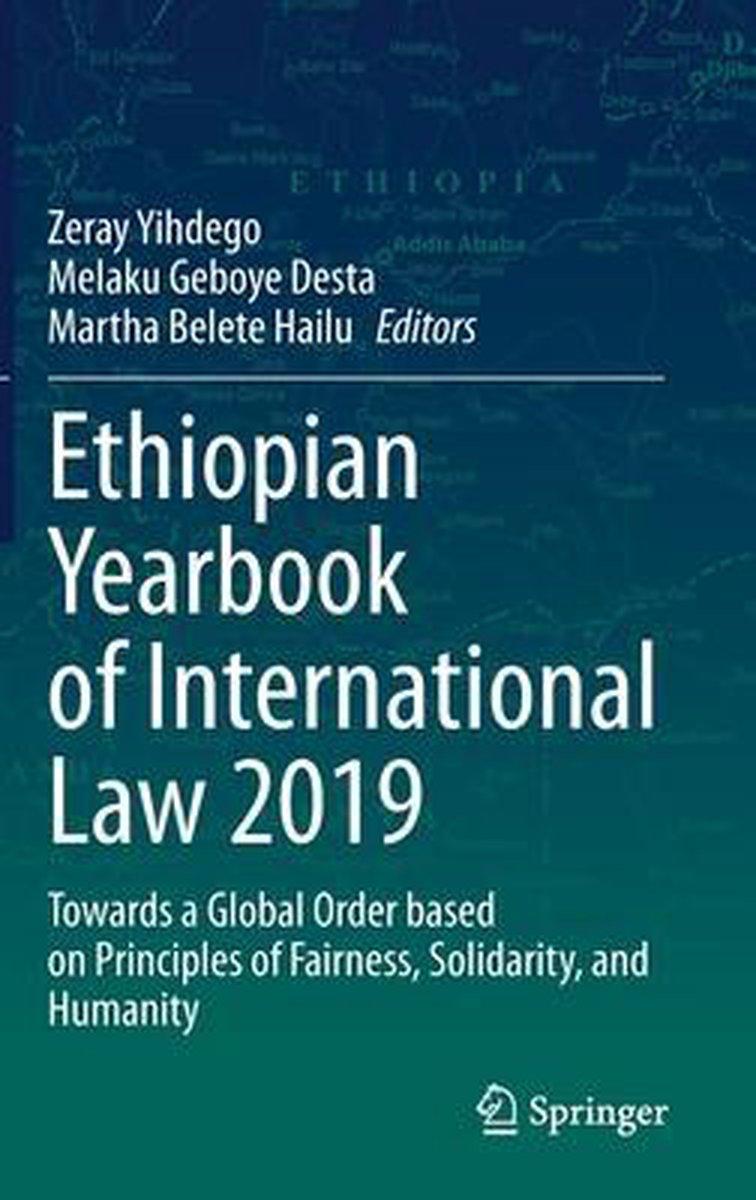 Ethiopian Yearbook of International Law 2019