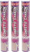 3 STUKS Party Confetti Shooters - Partyshooter - Partyshooter - Feest Shooter - Professionele Party Popper - Confetti Kanon