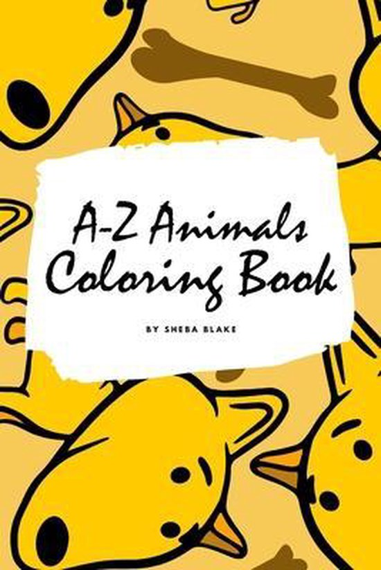 A-Z Animals Coloring Book for Children (6x9 Coloring Book / Activity Book)