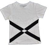 Ruit T-shirt maat L