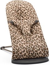 BABYBJÖRN Wipstoel Bliss Donkergrijs frame - Cotton klassiek quilt - Beige-Luipaard