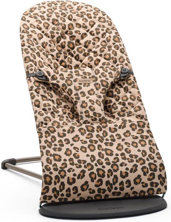 BABYBJÖRN Wipstoeltje Bliss - Beige-Luipaard Cotton