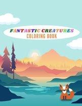 Fantastic Creatures Coloring Book
