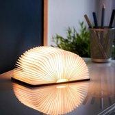 MikaMax Boek Lamp Large – Book Lamp - 3 licht standen – 15 x 17 cm –  Oplaadbaar via USB