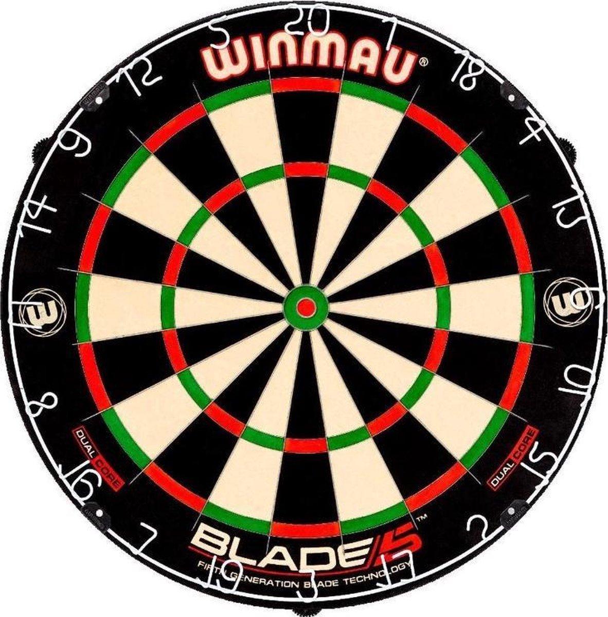 Winmau dartbord Blade 5 DUAL CORE