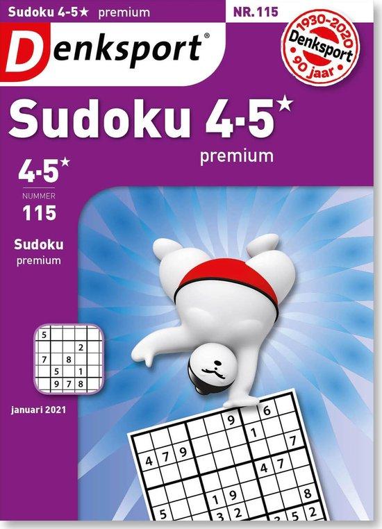 Afbeelding van Denksport Puzzelboek Sudoku 4-5* premium, editie 115
