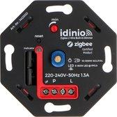 IDINIO Smart LED dimmer - Zigbee - Tot 300W - Geschikt voor Philips Hue & Homey - Inbouw