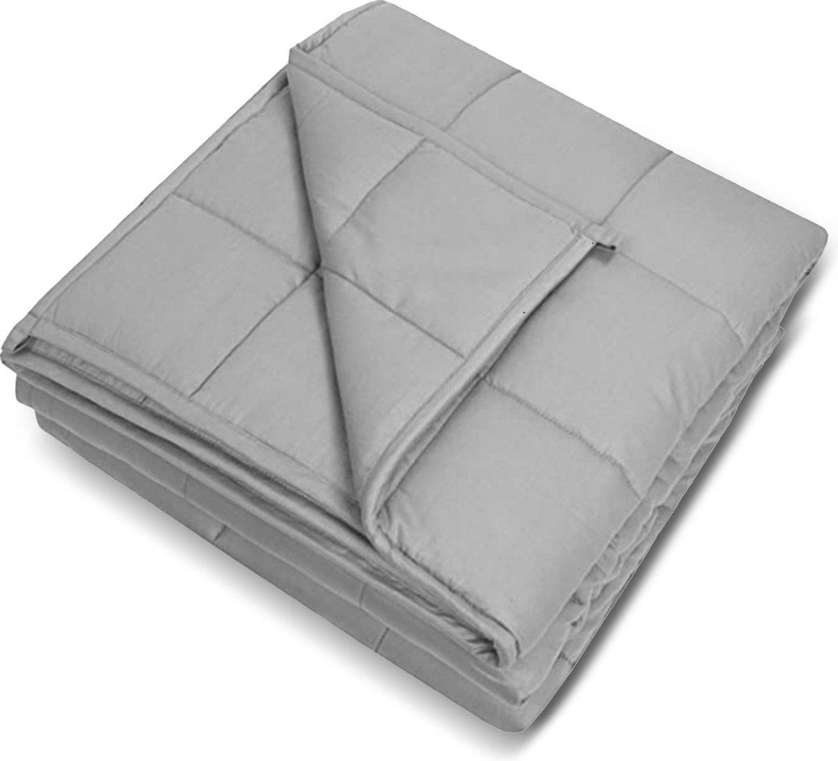 Verzwaringsdeken 8 KG - Weighted Blanket - Verzwaard Deken - Kalmeringsdeken - Voor Een Betere Slaap