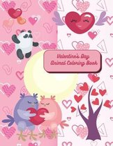 Valentine's Day Animal Coloring Book