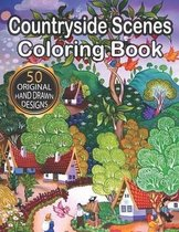 Countryside Scenes Coloring Book