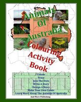 Animals Of Australia Colouring Activity Book