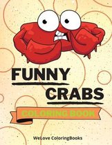 Funny Crabs Coloring Book