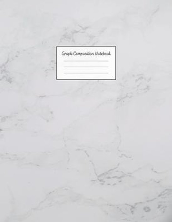 Graph Composition Notebook: Grid Paper Notebook: Large Size 8.5x11 Inches, 110 pages. Notebook Journal: White Cloudy Texture Workbook for Preschoo