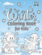 Winter Coloring Book for Kids