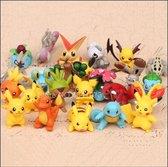 Pokémon figuurtjes - set van 25 stuks