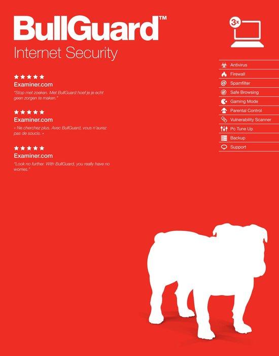 BullGuard Internet Security 1 Jaar 3 apparaten
