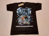 Rock Eagle Shirt: Wolf met motor (medium)