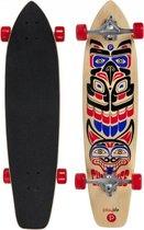 """Longboard Cherokee - Ideaal om afstanden af te leggen - 4-wiel Skateboard - 36""""x8,75"""" - Antislip deck - PlayLife"""