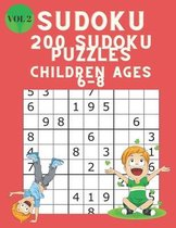 Omslag Sudoku 200 Sudoku Puzzles Children Ages 6-8