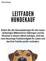 Boek cover Leitfaden Hundekauf van Werner Herzog
