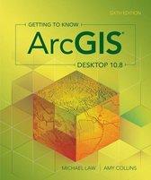 Boek cover Getting to Know ArcGIS Desktop 10.8 van Michael Law