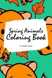 Spring Animals Coloring Book for Children (6x9 Coloring Book / Activity Book)