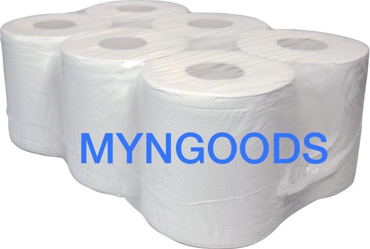 Poetsrol - Tork rol -  Papieren Torkrol - myngoods schoonmaak papier - hygiene papier