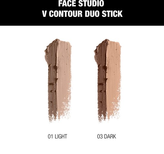 Maybelline Master Contour V-Shape Duo Stick - Light - Contouring