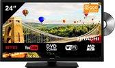 Hitachi 24HE2103 HD Ready 24 inch Smart TV DVD Combi