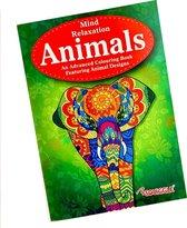 Kleurboek voor volwassenen - Kleurboek ''Dieren'' - A4 Kleurboek voor volwassen - Tekenen - Kleuren voor volwassenen boeken - Kleurpotloden voor volwassenen - Kleurboek voor volwassenen dieren