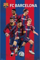 FC Barcelona 2020/2021 Group Poster 61x91.5cm