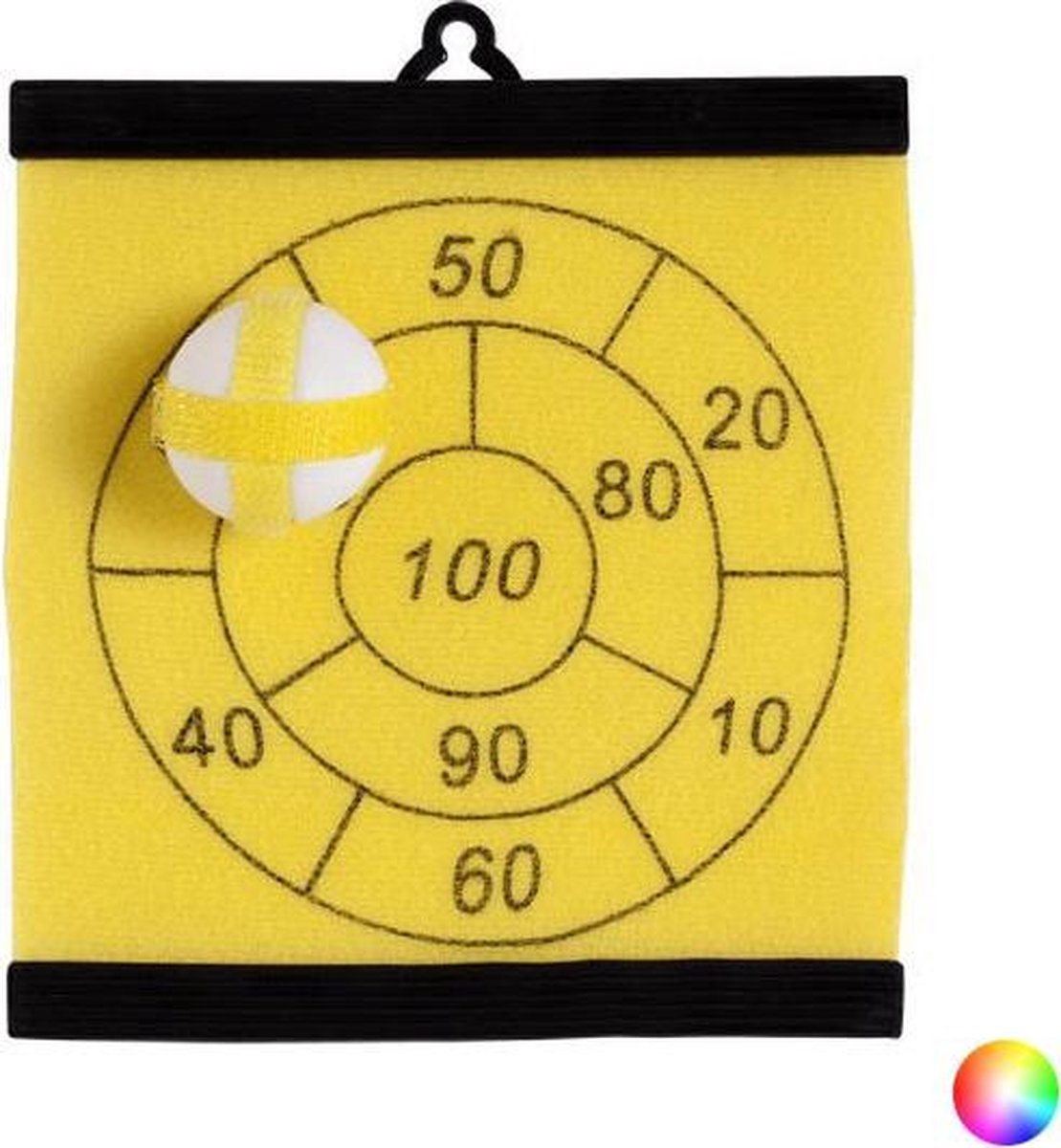 Klittenband Dartboard met Bal 143290