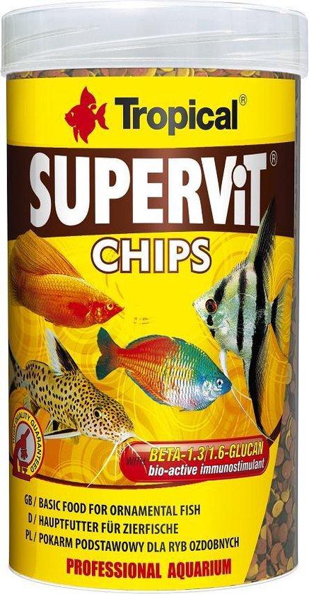 Tropical Supervit Chips 250ml | Aquarium Visvoer