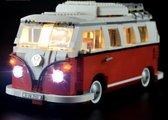 LICHTSET  voor LEGO® Volkswagen transporter T1 busje - Creator - Lighting kit Set nummer 10220 21001 Verlichting - Camper Van - Toy Brick Lighting - Let op alleen lichtset! Geen model