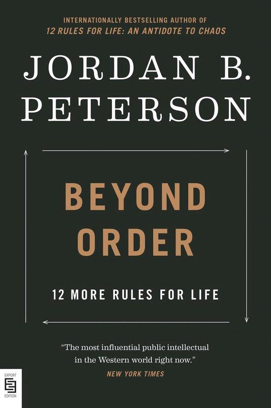 Boek cover Beyond Order: 12 More Rules for Life van Jordan B. Peterson (Paperback)