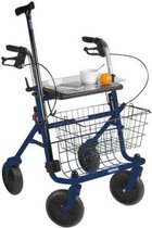 Thuasne Quatro Rollator | Blauw | Opvouwbaar -10,2 kg