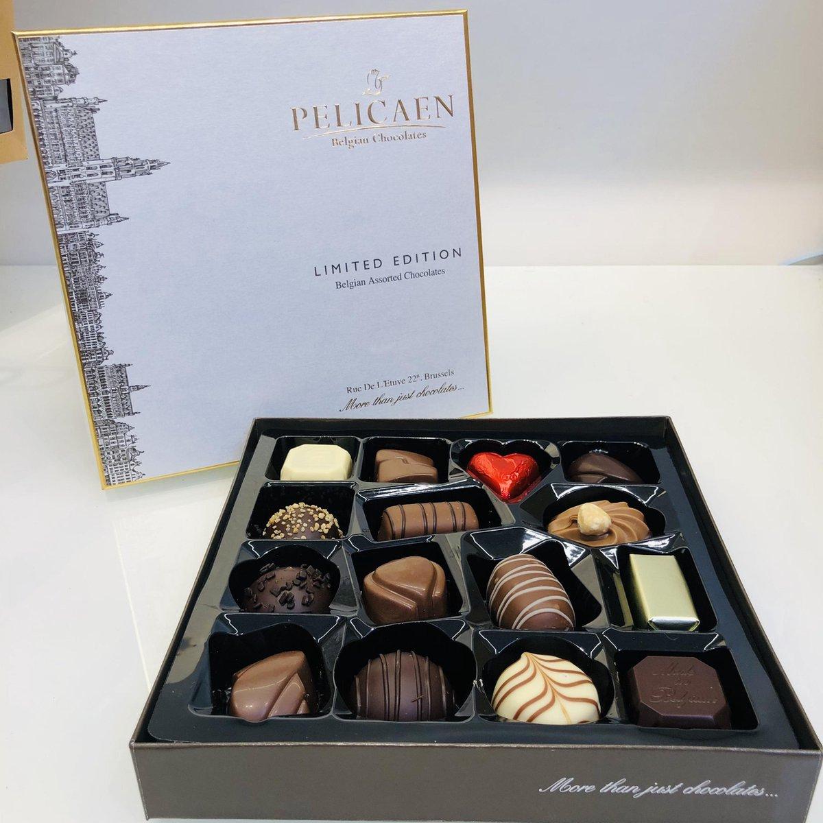 Pelicaen Belgische Chocolade Bonbons-Pralines - 200 gram