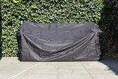 MaximaVida tuinbank beschermhoes London 180 cm - 200 cm zwart - zware uitvoering
