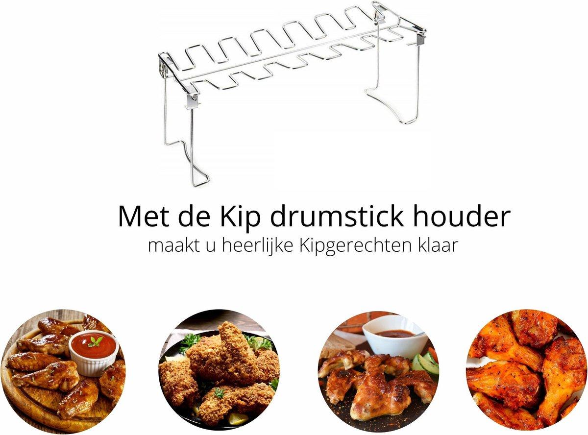 Kip drumstick houder - Gegrilde kip - kip gerechten
