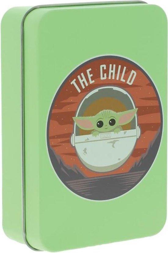 Thumbnail van een extra afbeelding van het spel Star Wars - The Mandalorian The Child Domino Set